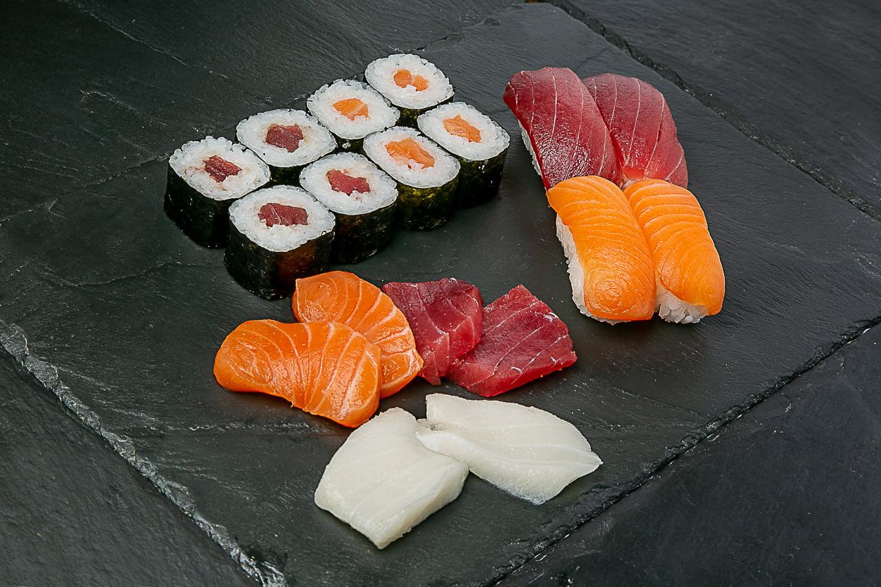 Combos sushi/sashimi